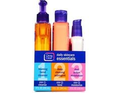 Clean & Clear DAILY SKINCARE ESSENTIALS 2 PACK 20 oz BEST PRICE Moisturizer…