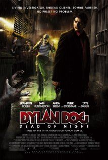 DYLAN DOG: DEAD OF NIGHT (2011) - The adventures of supernatural private eye, Dylan Dog, who seeks out the monsters of the Louisiana bayou in his signature red shirt, black jacket, and blue jeans.