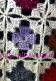 BEY BEĞENDİ ÖRNEĞİ (GRANNY SQUARE) – Örgü Pınarı Crochet Motifs, Crochet Stitches Patterns, Crochet Afghans, Baby Knitting Patterns, Granny Square Häkelanleitung, Granny Square Crochet Pattern, Crochet Squares, Single Crochet Stitch, Double Crochet