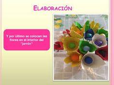 Resultado de imagen de flores plastico reciclaDO