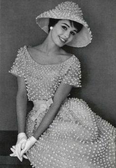 Работа Ива Сен-Лорана для дома моды Dior, 1959 г.