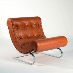 "Early 1970s ""Balestra"" Lounge Chair by Cinova"