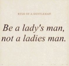Rule of Gentlemen