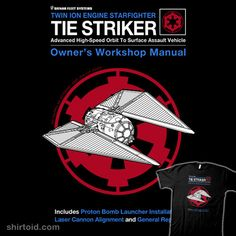 Striker Manual #drsimonbutler #film #haynesrepairmanual #movie #rogueone #scifi #starwars #tiestriker