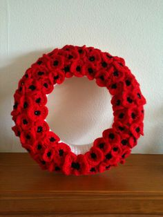 My latest crochet project for Remembrance Sunday