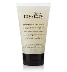 the great mystery | one-minute daily facial | philosophy ... https://www.amazon.com/dp/B001CJNZLE/ref=cm_sw_r_pi_dp_x_j0uxyb9YWZ8HP