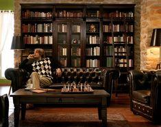 New (american) Home: Das Bücherregal im Wohnzimmer