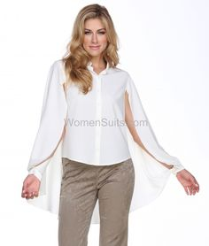 961276d1bd6df Blouse 19821 Lace Overlay