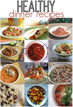 50 Healthy Dinner Recipes - Mad in Crafts