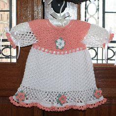 Easter Grace Dress Crochet Pattern pattern by Sandy Furlough
