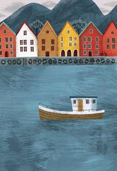 Essi Kimpimaki, Bergen, Norway - essillustration