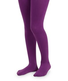 Buy Jefferies Socks Girls Pima Cotton Solid Color Tights 1 Pair and many other girls socks. Socks for everyone, we are your one stop sock shop. Cotton Tights, Striped Tights, Purple Tights, Ballet Tights, Mens Tights, Footless Tights, Purple Outfits, Fashion Tights, Girls Socks