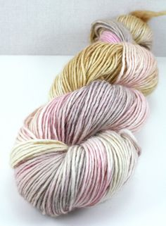 Dress Up in Softspoken Hand Dyed DK Weight Superwash by LushMommy, $26.00
