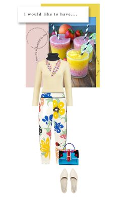 """Big flowers"" by noconfessions ❤ liked on Polyvore featuring Acne Studios, Victoria, Victoria Beckham and Paula Cademartori"