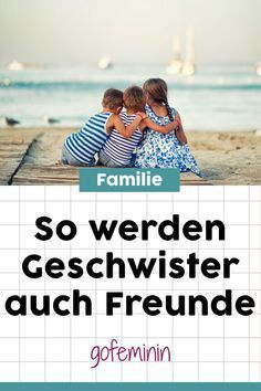 Sibling love: 5 tips to make your children super verse-Geschwisterliebe: 5 Tipps, damit eure Kinder sich super verstehen Sibling love: 5 tips so that your children understand each other very well # sibling rivalries - Parenting Quotes, Parenting Advice, Kids And Parenting, Babies R Us, Baby Health, Kids Health, Children Health, Parental Leave, Sibling Rivalry