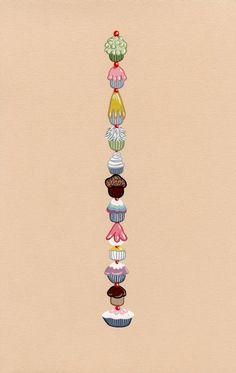 Mmmm... Cupcake Tower