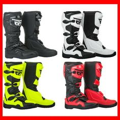 Pick Size Color Icon 1000 Elsinore HP Special Edition Mens  Motorcycle Boots