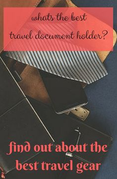 If you are looking for the best travel document holder to buy before you go travelling then check this out!