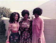 A young Latoya Jackson with family