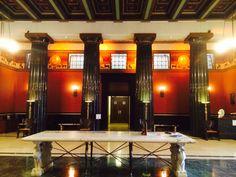 Grand Pillars, main lobby House of the Temple, Washington DC