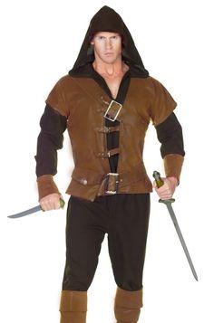 Mens Medieval Renaissance Huntsman Woodsman Halloween Costume #Underwraps