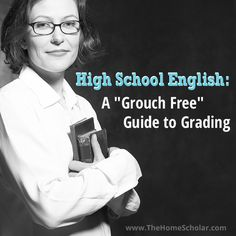 """High School English: A """"Grouch Free"""" Guide to Grading. Some insightful thoughts on improving student writing (not a recommended grading rubric) from Lee Binz"""