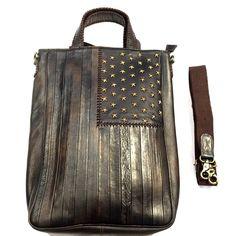 Scully Flag Bag w/ Shoulder Strap