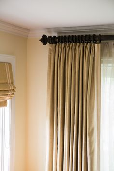 Try A Traverse Rod To Makes It Easy To Open And Close Curtains, While  Offering