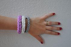 braccialetti in fettuccia tutti gli di AlwaysLoveAffairs su Etsy, $13.56