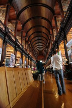 The Long Room at Trinity College: | The 30 Best Places To Be If You Love Books