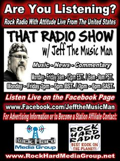 http://www.rockhardradio.net http://issuu.com/fanbasemag/docs/issue_43