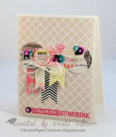 Kristi's Paper Creations.  Love the cluster for a layout embellishment.