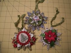 More snowflakes from Deann