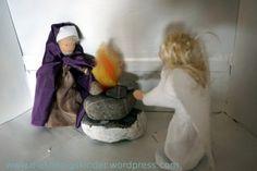 Zacharias bringt ein Rauchopfer dar, als ihm ein Engel erscheint. Ein Adventskalender in Bildern 03/24
