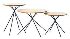 Frisbee side tables, DKr2,500 ($391), hermancph.dk