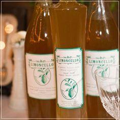 limoncello labels