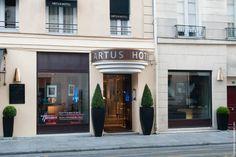 My favourite Paris Hotel -  Hotel Artus Rue de Buci