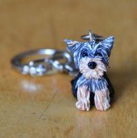 Yorkshire Terrier sleutelhanger