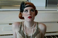 Twenties style with a Naughties twist.. So glam!