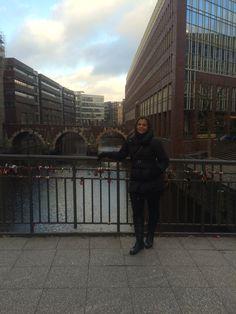 Passeio pelas ruas de Hamburgo, Alemanha.