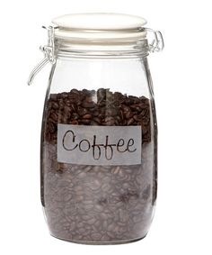 Another great find on #zulily! 'Coffee' Hermetic Jar #zulilyfinds