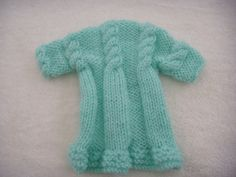 Dog clothes pale turquoise blue sweater dress for your by CUTIEDOG, £10.00