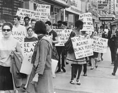 NEWARK, N.J. — A youth group protesting about the use of Federal Troops to control the race riots in 1967.