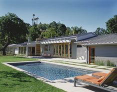 liking the idea of something to soften that hard look of concrete...Award Winning Mid Century Modern - contemporary - pool - los angeles - Gus Duffy AIA