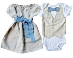 Matching Brother sister Linen & Gingham by LukeLulu on Etsy Boys Christmas Outfits, Baby Girl Christmas, Cute Outfits For Kids, Twin Outfits, Matching Outfits, Boy Girl Twins, Girls, Boy Onesie, Baby Kids Clothes