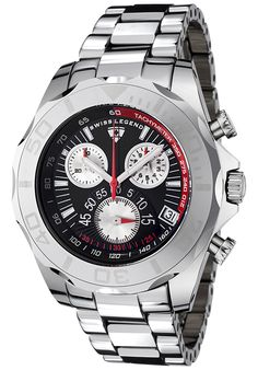 Price:$299.99 #watches SWISS LEGEND T8010-11, With a detailed facade displaying multi-functional subdials, this Swiss Legend Tungsten Pro chronograph is style built with precision.