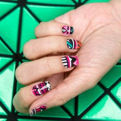 SALE! GUMMI Nail Wraps: Pretty in Pink Aztec by GummiNails on Etsy https://www.etsy.com/listing/160200058/sale-gummi-nail-wraps-pretty-in-pink
