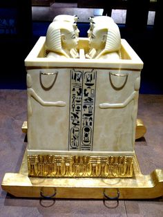 Canopic chest with canopic jars from Tutankhamun´s tomb | Flickr : partage de photos !