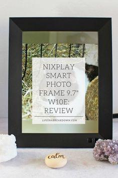 """Nixplay Smart Photo Frame 9.7"""" W10E: Review #Photography #smartphotoframe #homedecor #homeideas"""