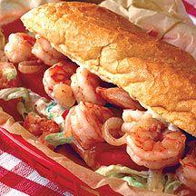 Shrimp Po'Boys - 8 pts+